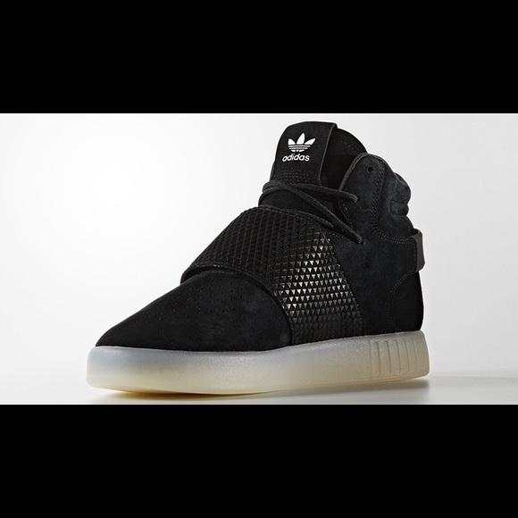 Adidas zapatos tubular Correa negro Ice High Top poshmark invasor